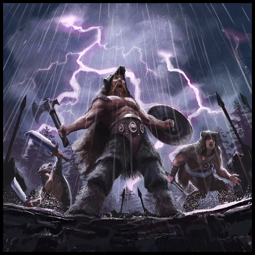 Vikings berserkers