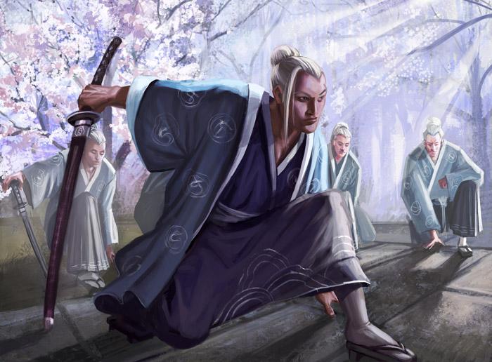 [L5R] campagne lacenaire : les invasions barbares.. - Page 5 Cranewarriors