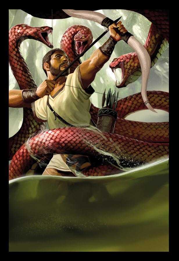 Hercule vs hydre