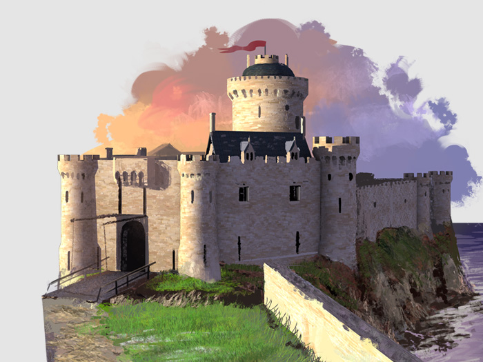TOPDOC Chevaliers Et Chateaux Forts