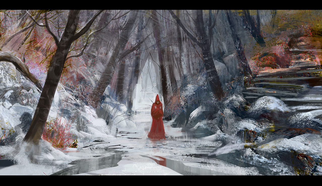 chaperon rouge/ little red hood