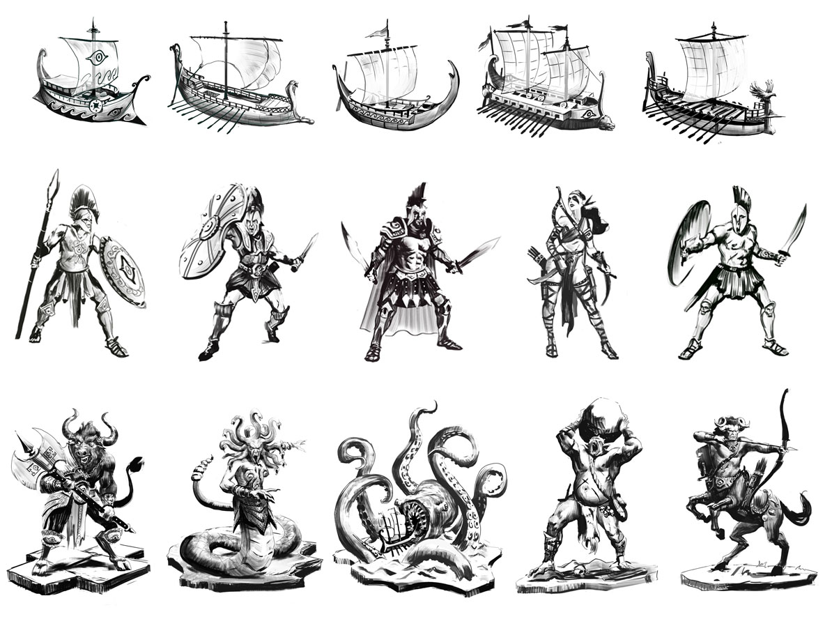 cyclades figurines